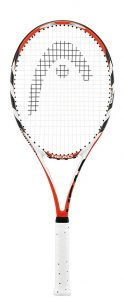 Strung tennis racket