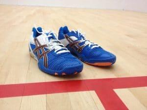 Tennis shoes vs squash shoes