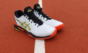 Tennis shoes vs racquetball shoes