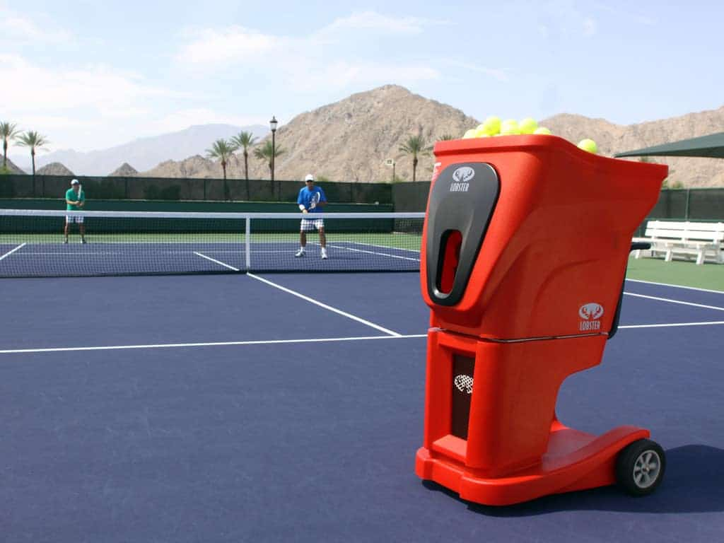 featured image for Best Tennis Ball Machines